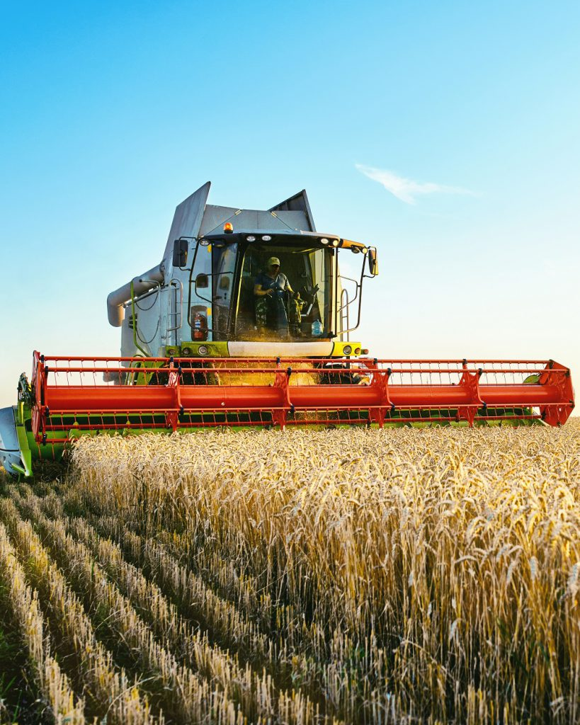 insurance for combines, agriculture machinery